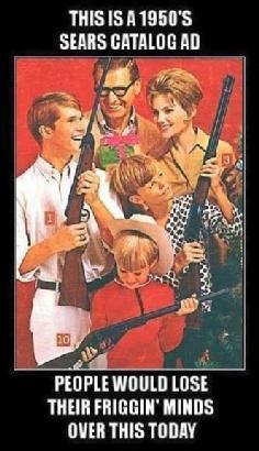 1950's Sears gun ad