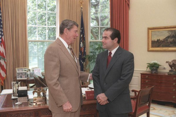 Reagan & Scalia