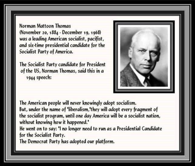 Democrat & Socialist platform 1944