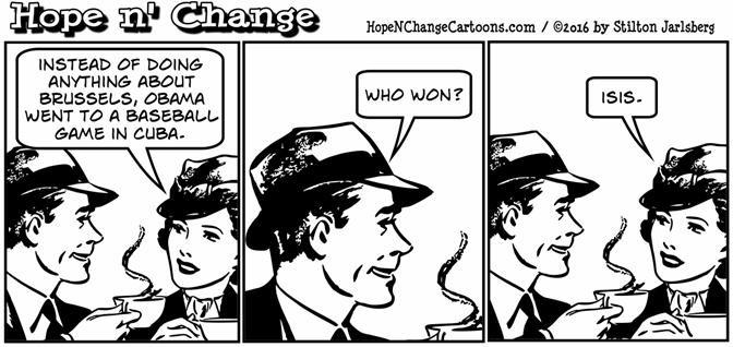 Hope and Change comic strip