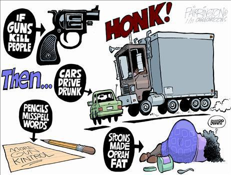 if guns kill people, then....