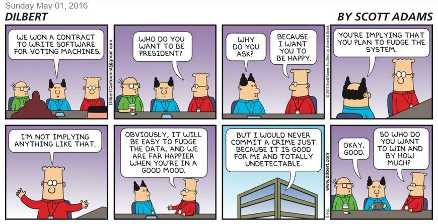 Dilbert comic strip