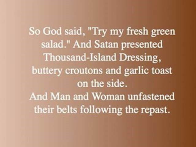 God & Satan with Adam & Eve4