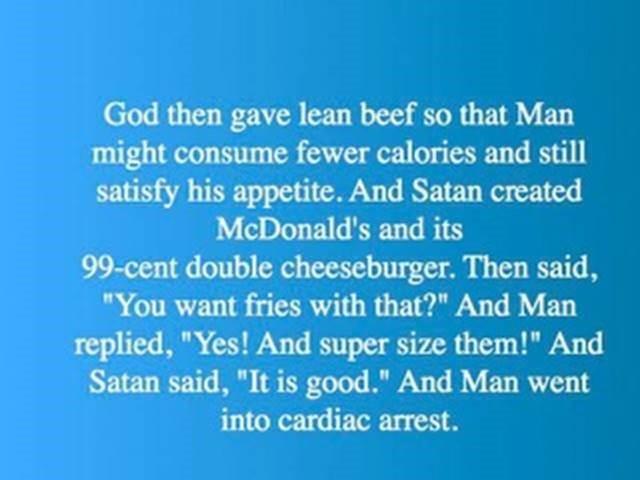 God & Satan with Adam & Eve8